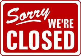 We Are Closed In Pocatello